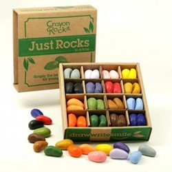Crayon Rocks - Just Rocks in a Box (64 stuks)
