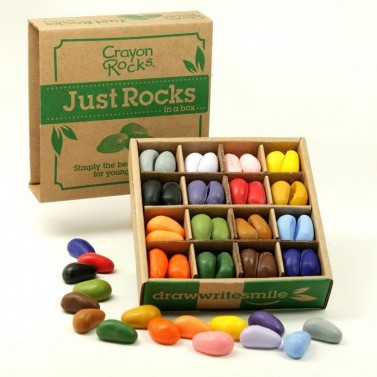 Crayon Rocks - Just Rocks in a Box (64 stuks)