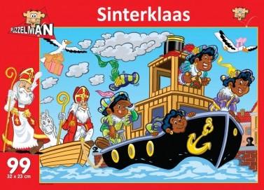 Sinterklaas Stoomboot Puzzel (99 stukjes)