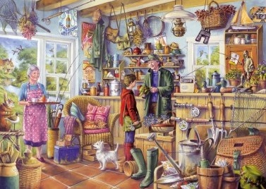 The Fishing Shed Puzzel (1000 stukjes)