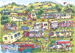 The Caravan Site Puzzel (1000 stukjes)