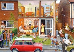 Memory Lane - Our House 1960s Puzzel (1000 stukjes)