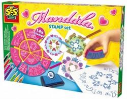 SES Super Uitwasbare Stempelset-Mandala
