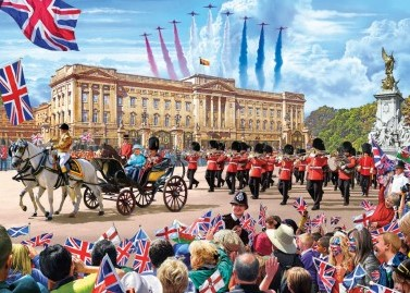Buckingham Palace Puzzel (1000 stukjes)