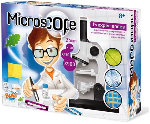 Buki - Microscoop met 15 Experimenten-1