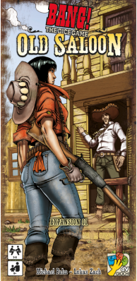 Bang! The Dice Game - Old Saloon Expansion