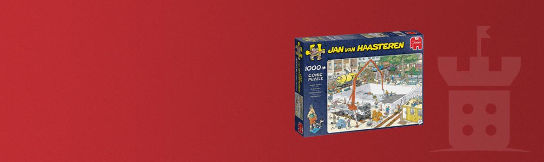 Jan van Haasteren - Bijna klaar? Puzzel