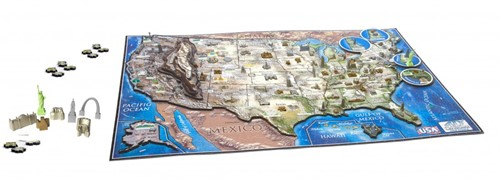 4D City Puzzel - USA (950 stukjes)-2