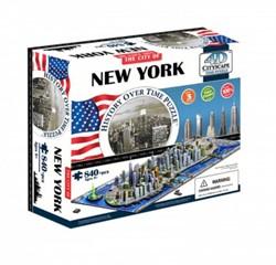 4D City Puzzel - New York (900 stukjes)