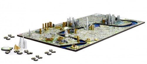 4D City Puzzel - London (1100 stukjes)-2
