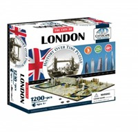 4D City Puzzel - London (1100 stukjes)-1