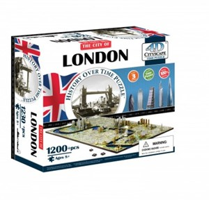 4D London city puzzel