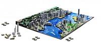 4D City Puzzel - Hong Kong (1100 stukjes)-2