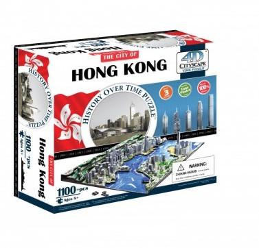 4D City Puzzel - Hong Kong (1100 stukjes)