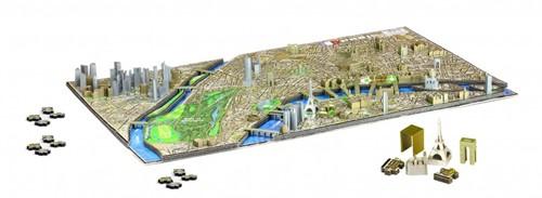 4D City Puzzel - Paris (1100 stukjes)-2