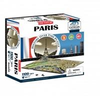 4D City Puzzel - Paris (1100 stukjes)-1