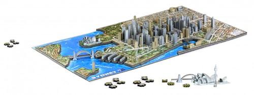 4D City Puzzel - Sydney (1000)-2