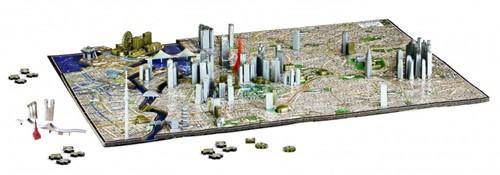 4D City Puzzel - Tokyo (1400 stukjes)-2