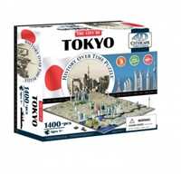4D City Puzzel - Tokyo (1400 stukjes)-1