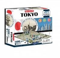 4D City Puzzel - Tokyo (1400 stukjes)