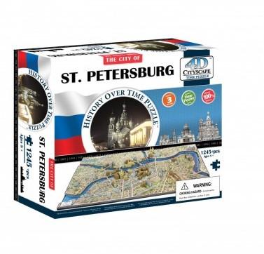 4D City Puzzel - Sint Petersburg (1245)-1