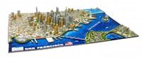 4D City Puzzel - San Francisco (1000 stukjes)-2
