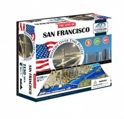 4D City Puzzel - San Francisco (1000 stukjes)