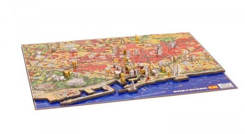 4D City Puzzel - Barcelona (1200 stukjes)