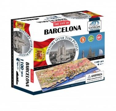 4D City Puzzel - Barcelona (1200 stukjes)-1