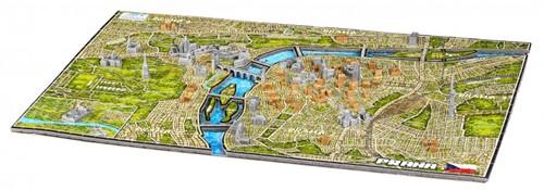 4D City Puzzel - Prague (1200 stukjes)-2