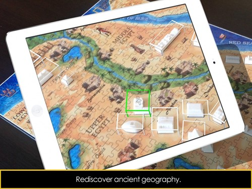 4D National Geographic Puzzel - Ancient Egypt (600 stukjes)-2
