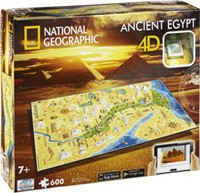 4D National Geographic Puzzel - Ancient Egypt (600 stukjes)
