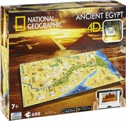 4D National Geographic Puzzel - Ancient Egypt (600 stukjes)