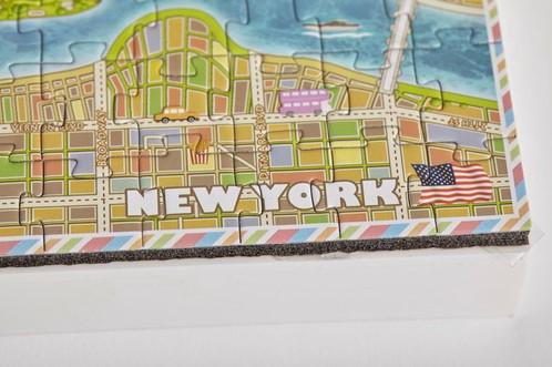 4D Mini City Puzzel - New York (193 stukjes)-3