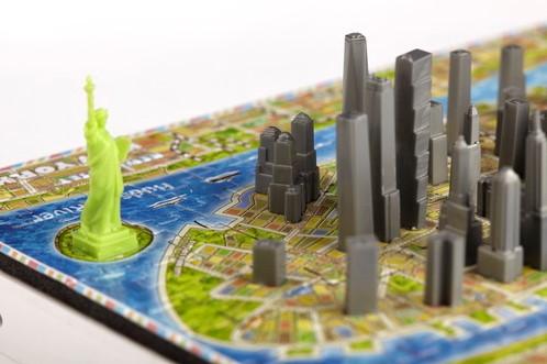 4D Mini City Puzzel - New York (193 stukjes)-2