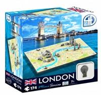 4D Mini City Puzzel - London (174 stukjes)-1