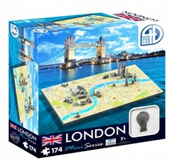 4D Mini City Puzzel - London (174 stukjes)