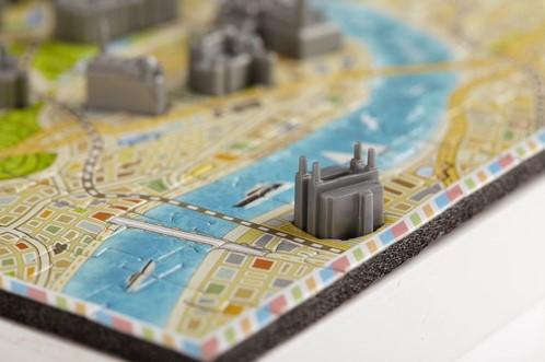 4D Mini City Puzzel - London (174 stukjes)-2