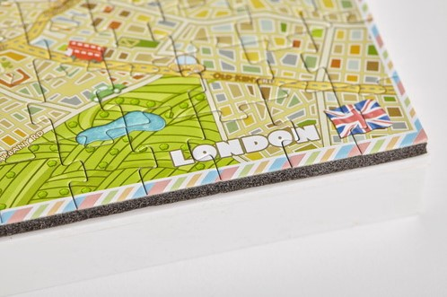 4D Mini City Puzzel - London (174 stukjes)