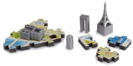 4D Mini City Puzzel - Paris (166 stukjes)-2