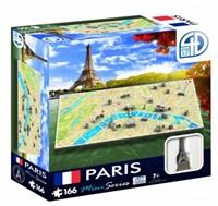 4D Mini City Puzzel - Paris (166 stukjes)