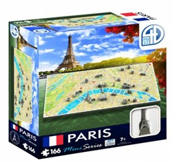 4D Mini City Puzzel - Paris (166 stukjes)
