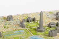 4D Mini City Puzzel - Washington D.C. (164 stukjes)-3