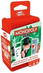 Speel met monopoly deal in 20 minuten een overdonderend spelletje monopoly! verzamel drie complete sets ...
