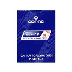 Speelkaarten - Copaq EPT Poker (Blauw)