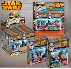 Speelkaarten Star Wars Episode 1-6 (2 stuks)