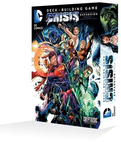 DC Comics Deck Building Game - Crisis Expansion Pack 1
