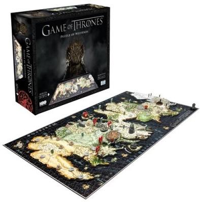 4D Puzzle - Game of Thrones (1500 stukjes)