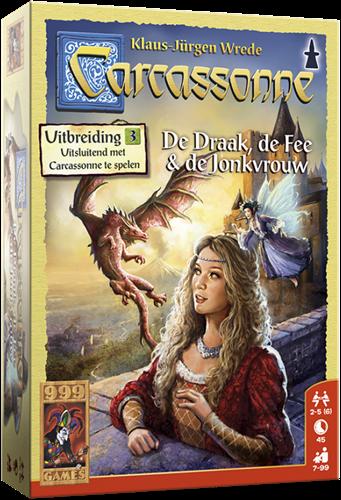 Carcassonne - De Draak, de Fee en de Jonkvrouw-1