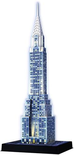 3D Puzzel - Chrysler Building - Night Edition (216 stukjes)-2